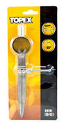 Metalliharppi 150mm, 65 astetta, TOPEX