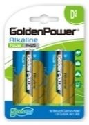 Alkaaliparisto D 2kpl - GoldenPower