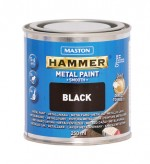 Metallimaali 250ml musta - Maston Hammer