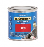 Metallimaali 250ml, punainen - Maston Hammer