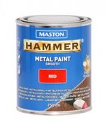 Metallimaali 750ml punainen - Maston Hammer