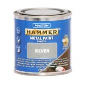 Metallimaali 250ml hopea - Maston Hammer