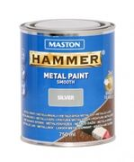 Metallimaali 750ml hopea - Maston Hammer