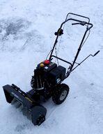 """Lumilinko 5,5 hp 163cc, 13"""" lumirenkaat, itsevetävä, käsikäynnistys - HANDAI"""