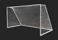 Jalkapallomaali 365x198x183cm, terästä