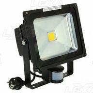 LED-valaisin 30W musta tunnistemalla