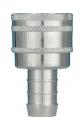 Liitinpesä kiintein letkunipoin 16 mm letkulle