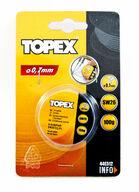 Juotostina 0,7mm / 100g, TOPEX
