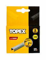 Nitojan niitti, 6mm, 1000kpl, J/53, TOPEX