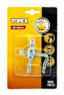 Kaakelileikkuri porakoneeseen, 40-90mm, säädettävä, TOPEX