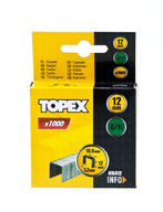 Nitojan niitti G/11, 12mm, 1000 kpl, TOPEX