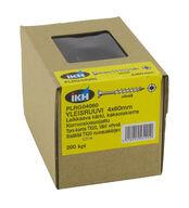 Yleisruuvi 4x60mm, leikkaava kärki, kaksoiskierre, RST, vihreä, Torx TX20-kanta, 200 kpl/pkt + ruuvauskärki