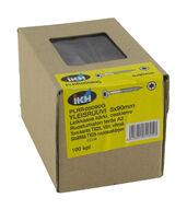 Yleisruuvi 5x90mm, leikkaava kärki, osakierre, RST, vihreä, Torx T25-kanta, 100 kpl/pkt + ruuvauskärki