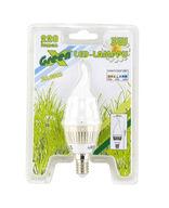 LED-kynttilälamppu, liekkimuoto, 3W, E14, 30 000h, Lexxa GreenX