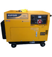Dieselgeneraattori 5,5kVA 400V; Kipor KDE6500T3