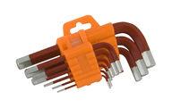 Kuusiokolosarja, 9-osainen, 1,5-10mm, Multitec