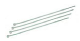 Nippuside 2,5x90mm, valkoinen, 100kpl, ElectroGEAR