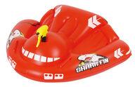 Lasten uimapatja, hainevä, mukana vesipyssy, 119x95cm, Bestway