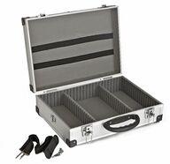 Työkalusalkku Meisterline, 425x305x125mm, alumiini