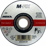 Katkaisulaikka metallille, 115x1,0x22,2mm, Mirka M-Fix