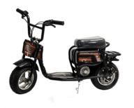 Varikkomopo / sähkömopo 350w, musta - Burromax ES350