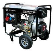 Dieselaggregaatti / dieselgeneraattori HANDAI 4500/5000W, 230/400V