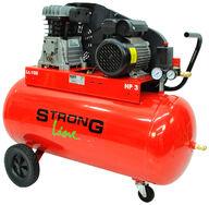 Paineilmakompressori 3 hp, 100L säiliö, 320L/min, Strong Line