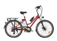 Sähköavusteinen polkupyörä / sähköpyörä, matalarunkoinen / naisten, 26 tuumainen