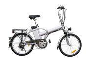 Sähköavusteinen polkupyörä / sähköpyörä, taittomalli, 20 tuumainen