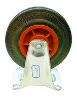 Teollisuuspyörä, kiinteä, 100x27mm, 70kg