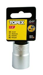"Hylsy 1/2"", 19mm, TOPEX"