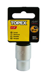 "Hylsy 1/2"", 13mm, TOPEX"