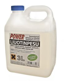 Liuotinpesuaine 3L - Power