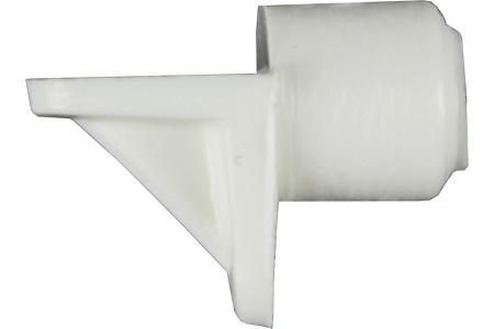 Hyllynkannatin Ø 5 mm, 12kpl - Pisla