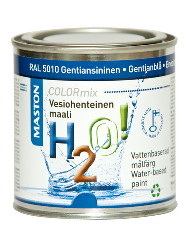 Maali Gentiansininen RAL5010 250ml - Maston H2O!