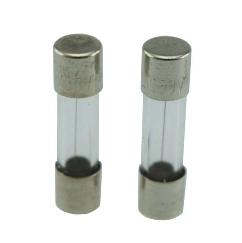 Lasiputkisulake 2.5A/n 2kpl - ElectroGEAR