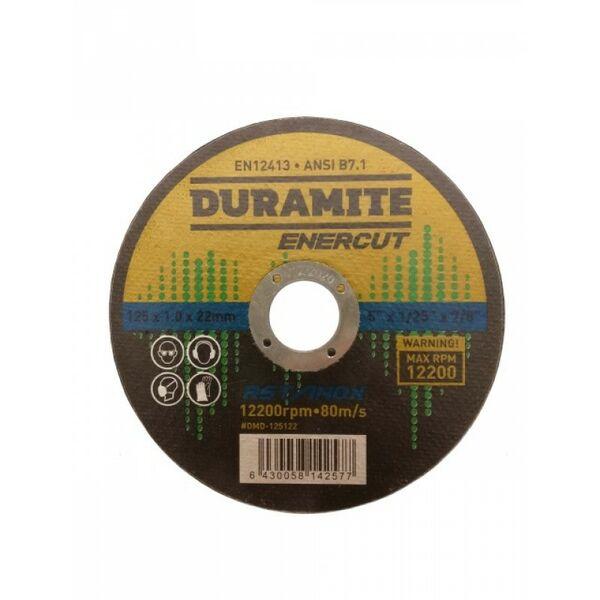 Katkaisulaikka 125mm, RST - Duramite