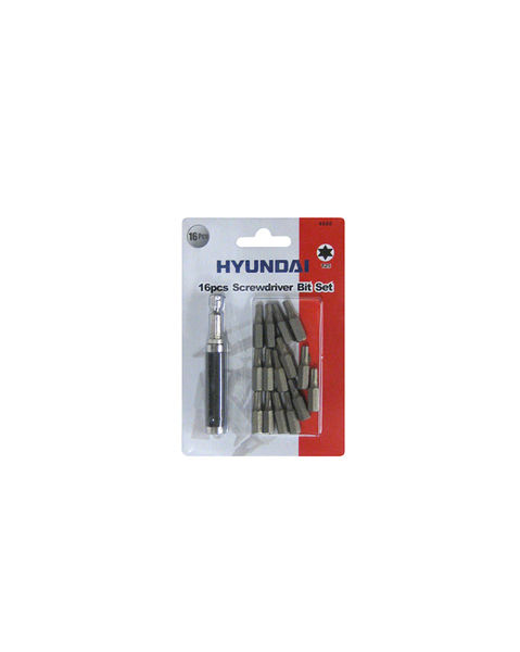 Torx-kärkisarja magneettipitimellä, T25x25mm - HYUNDAI