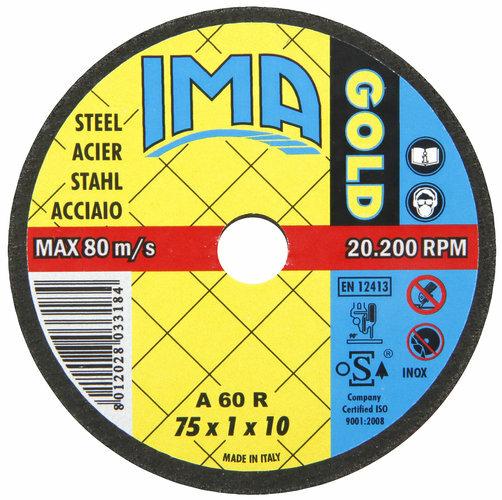 Katkaisulaikka 75mm, metallille - IMA