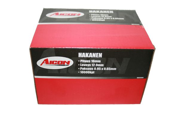 Hakanen 12,9mm / 16mm / 10000kpl - Aicon