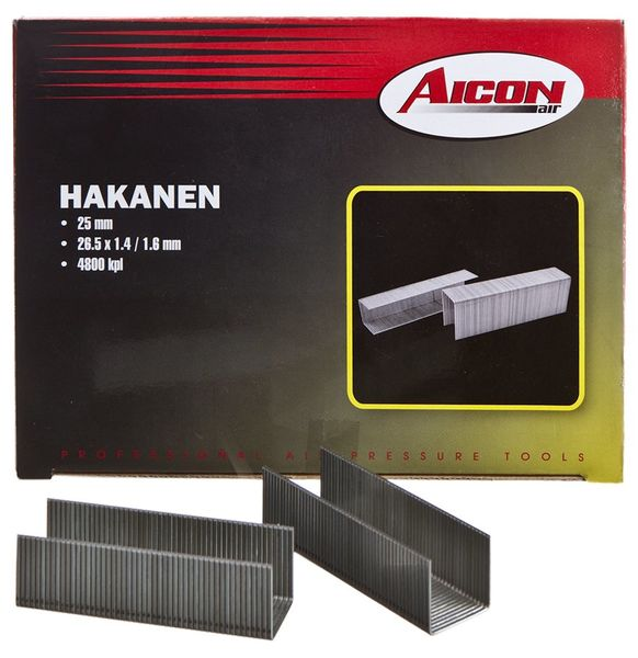 Hakanen 26,5x25mm, 4800kpl - Aicon