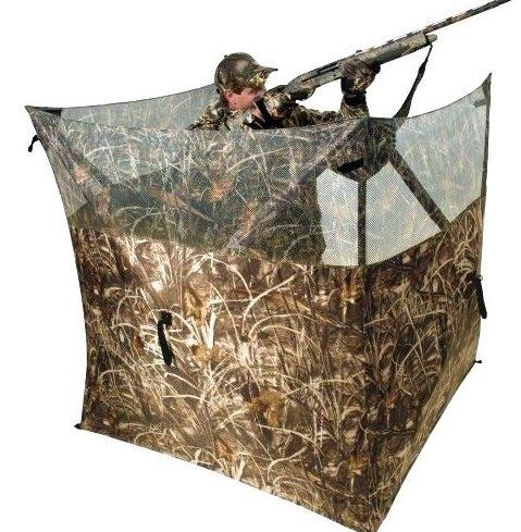 Metsästäjän naamiointi suoja