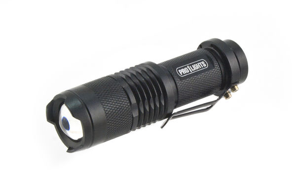 Taskulamppu 250 lumen, Q5 Cree LED - Pro1Lights