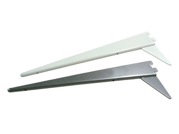 Kannatin, 400mm, valkoinen, vahvistettu